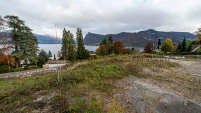 So soll die Siedlung gemäss Website Sonnhalde-Park aussehen. (Bild: Dominik Wunderli (13. November 2019))