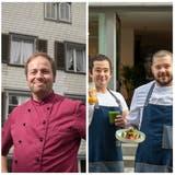 Was zaubert Florian Nolting, Geschäftsleiter und Koch des Restaurants Schwarzer Bären, unter der Glosche hervor? (Bild: Michel Canonica (4. Februar 2021))