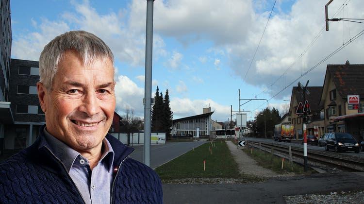 Dank der neuen Haltestelle soll der nördliche Teil des Dorfs besser erschlossen werden. (Anja Suter)