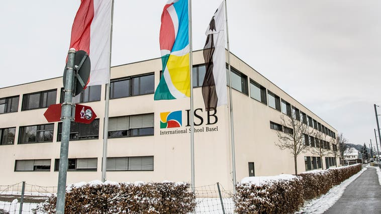 Die ISB in Reinach ist derzeit geschlossen – 41 Coronafälle sind dafür verantwortlich. (Nicole Nars-Zimmer (Reinach, 11. Februar))