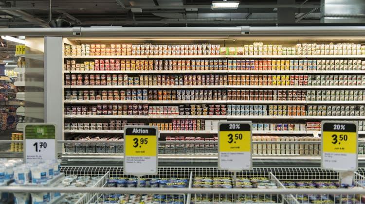 Ein Drittel des Lebensmittelumsatzes ging 2020 auf tierische Produkte zurück. (Symbolbild) (Keystone)