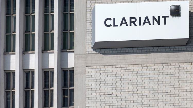 Clariant verzeichnete im vergangenen Jahr weniger Umsatz. (Keystone)