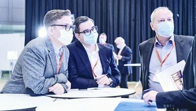 Der Moment der Schlappe: Regierungsratswahlen und Grossratswahlen Basel-Stadt. (Roland Schmid / BLZ)