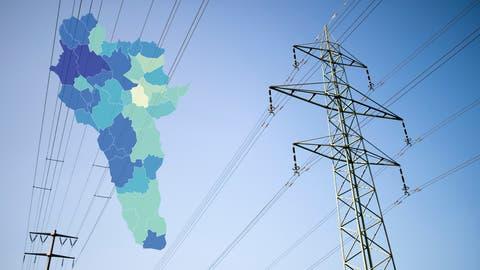 Die Unterschiede bei den Strompreisen sind teilweise gross. (Benjamin Manser)