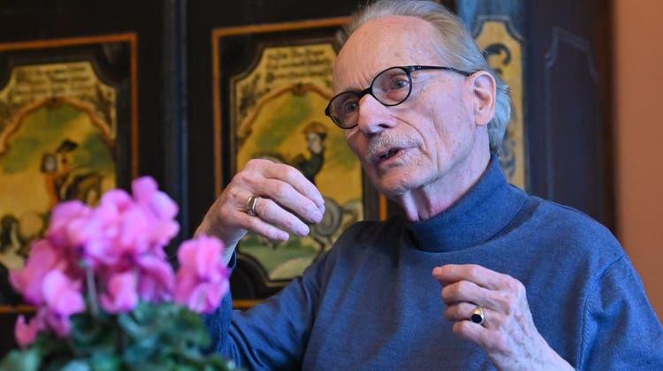 Wilhelm Kufferath von Kendenich denkt über das Wesen der Kunst nach. (Archiv) (Bruno Kissling)