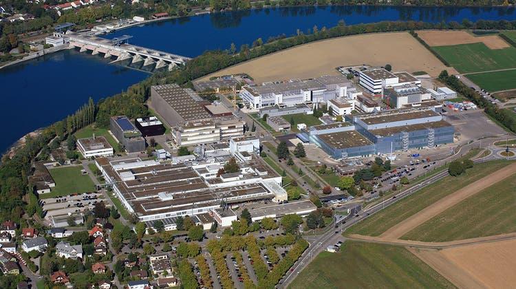 Das Pharmaunternehmen Novartis hat für den Standort Stein das Projekt Life-Science-Park angekündigt. (zvg)