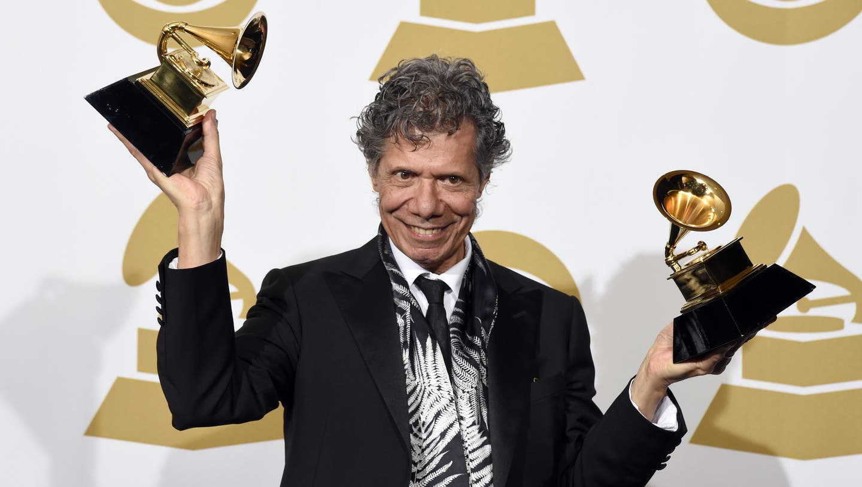 Chick Corea an Grammy Awards-Verlaihungvon 2015. (Chris Pizzello / AP)