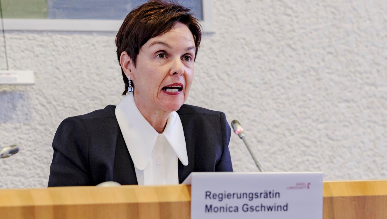 Bildungsdirektorin Monica Gschwind wehrt sich gegen die Initiative der Starken Schule beider Basel. (Kenneth Nars(Liestal, 27. August 2020))
