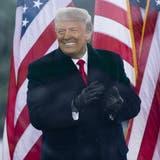 Darf sich freuen: Donald Trump wurde vom Senat zum zweiten Mal freigesprochen. (Michael Reynolds / EPA)