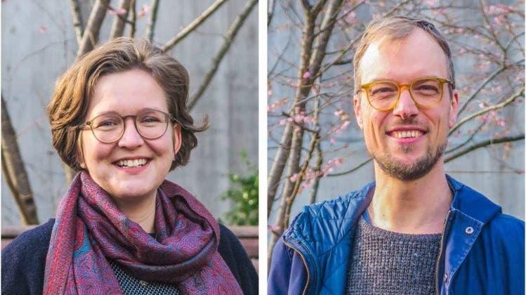 Raffaela Hanauer greift gemeinsam mit Benjamin Vulpen nach dem Co-Präsidium der Grünen Basel-Stadt. Parteiintern erntet das Duo Skepsis. (Bilder: zvg)