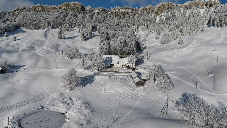 Das Bergrestaurant «Oberes Brüggli». (zvg)
