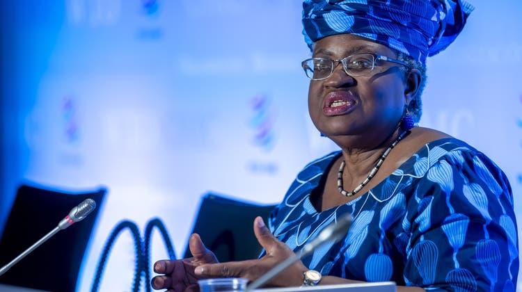 Okonjo-Iweala ist die erste Frau und die erste Vertreterin des afrikanischen Kontinents an der Spitze der WTO. (Keystone)
