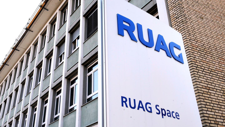 Bei Ruag International kommt es zu einem weiteren Stellenabbau. Betroffen ist das Raumfahrtgeschäft. (Keystone)