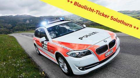 Rega im Einsatz bei Motorradunfall ++ Zeugen von Entreiss-Diebstahl gesucht