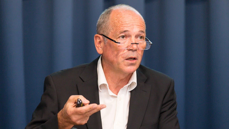 «Die Situation ist schon sehr aussergewöhnlich», sagt Max Moor, Geschäftsleiter des Spitex Verbands Aargau. (Bild: Claudio Thoma)