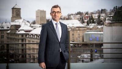 SGKB-Chef Roland Ledergerber steht vor dem Wechsel in den Verwaltungsrat, dessen Präsidium er 2022 übernehmen soll. (Bild: Ralph Ribi (St.Gallen, 12. Februar 2020))