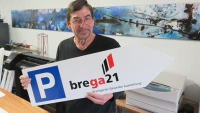 Markus Spalinger ist zum fünften Mal OK-Präsident der Bremgarter Gewerbeausstellung. (Marc Ribolla)