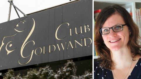 Der Club Goldwand in Rieden bei Baden ist von der Schliessung betroffen. (Sandra Ardizzone)