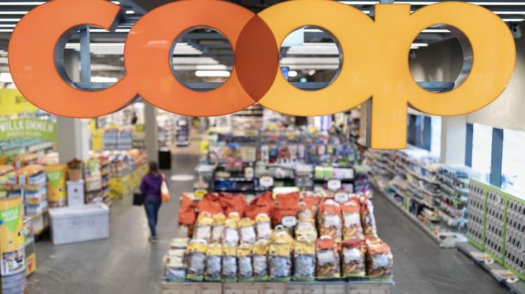 Mehr Gewinn trotz weniger Umsatz: Coop blickt auf ein solides Jahr 2020 zurück. (Keystone)