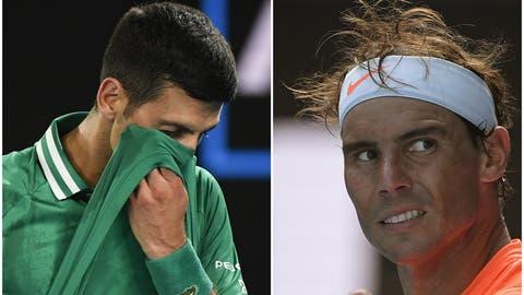 Novak Djokovic steht bei den Australian Open in den Halbfinals. (Dave Hunt / EPA)