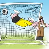 Ein Übel des Sports: Von der Wettmafia gesteuerte Spielmanipulationen. (Jals)