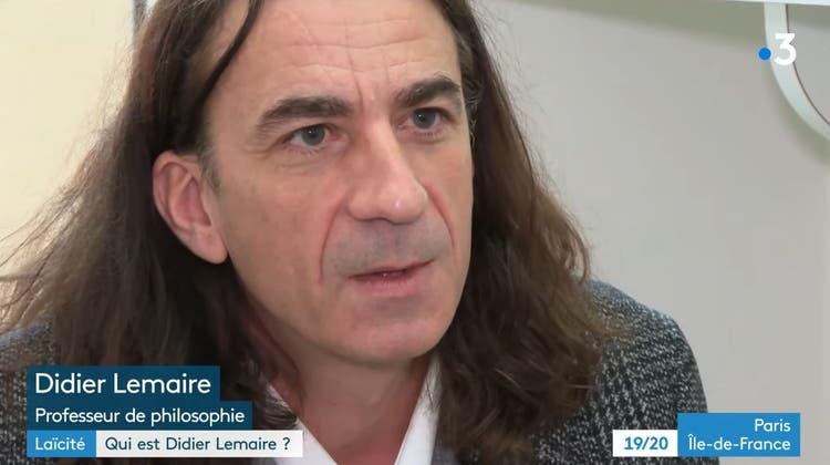 Er warnte vor den Salafisten in seiner Heimat Trappes. jetzt musste er seinen Unterricht einstellen: Der Lehrer Didier Lemaire muss um sein Leben fürchten. (HO)