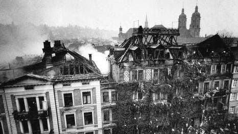 Lawinen-Niedergang auf der Schwägalp am 10. Januar2019. (Bild: Tagblatt-Archiv)