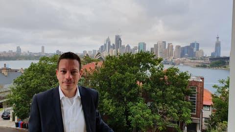 Raphael Schmid aus Frick lebt seit August 2015 in Sydney. Dort hat – im Gegensatz zur Schweiz– vieles wieder geöffnet. (Bild:Zvg(8. Januar 2020))