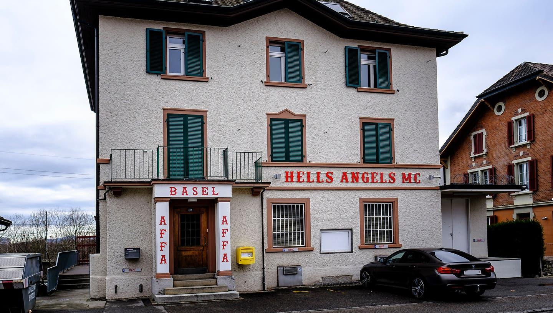 Der Sitzder Hells Angels in Münchenstein. Hier fand die Razzia statt. (Kenneth Nars)