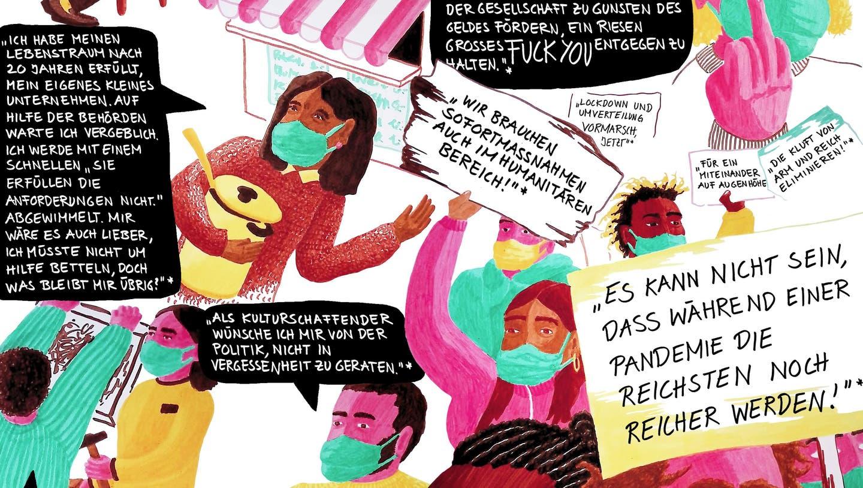 Von Corona gezeichnet: Der neuste Comic stammt vonZiska Bachwas. (Alex Baladii)