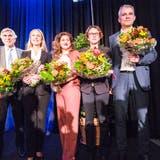 Die grünliberale Basler Nationalrätin Katja Christ (Zweite von links) will die Lobbybemühungen in Bundesbern stärken. (Roland Schmid / BLZ)