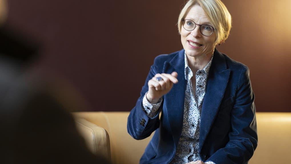 Ist noch nicht fertig: Schweizer EU-Verhandlerin Livia Leu. (Keystone)