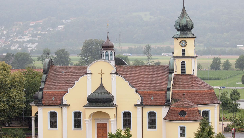 Die Katholische Kirche in Kestenholz. (Bruno Kissling)