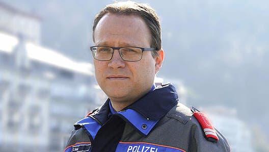 Polizeikommandant Damian Meier ist selber Fasnächtler. Umso enttäuschter ist er von den Vorfällen am Güdelmontag in Einsiedeln. (Bild: Bote der Urschweiz)