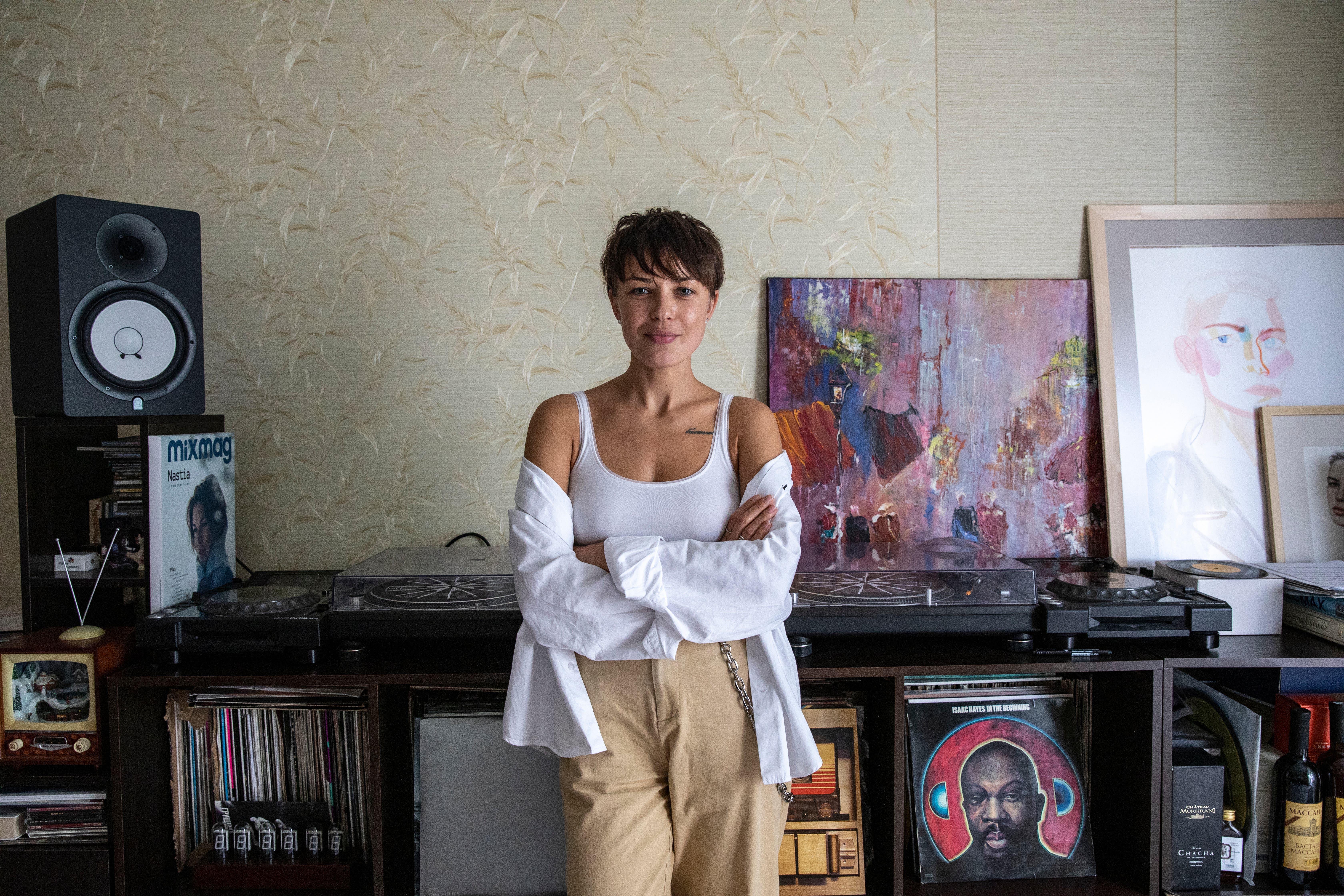 Die ukrainische Techno-DJane Nastia ist ein internationaler Star.