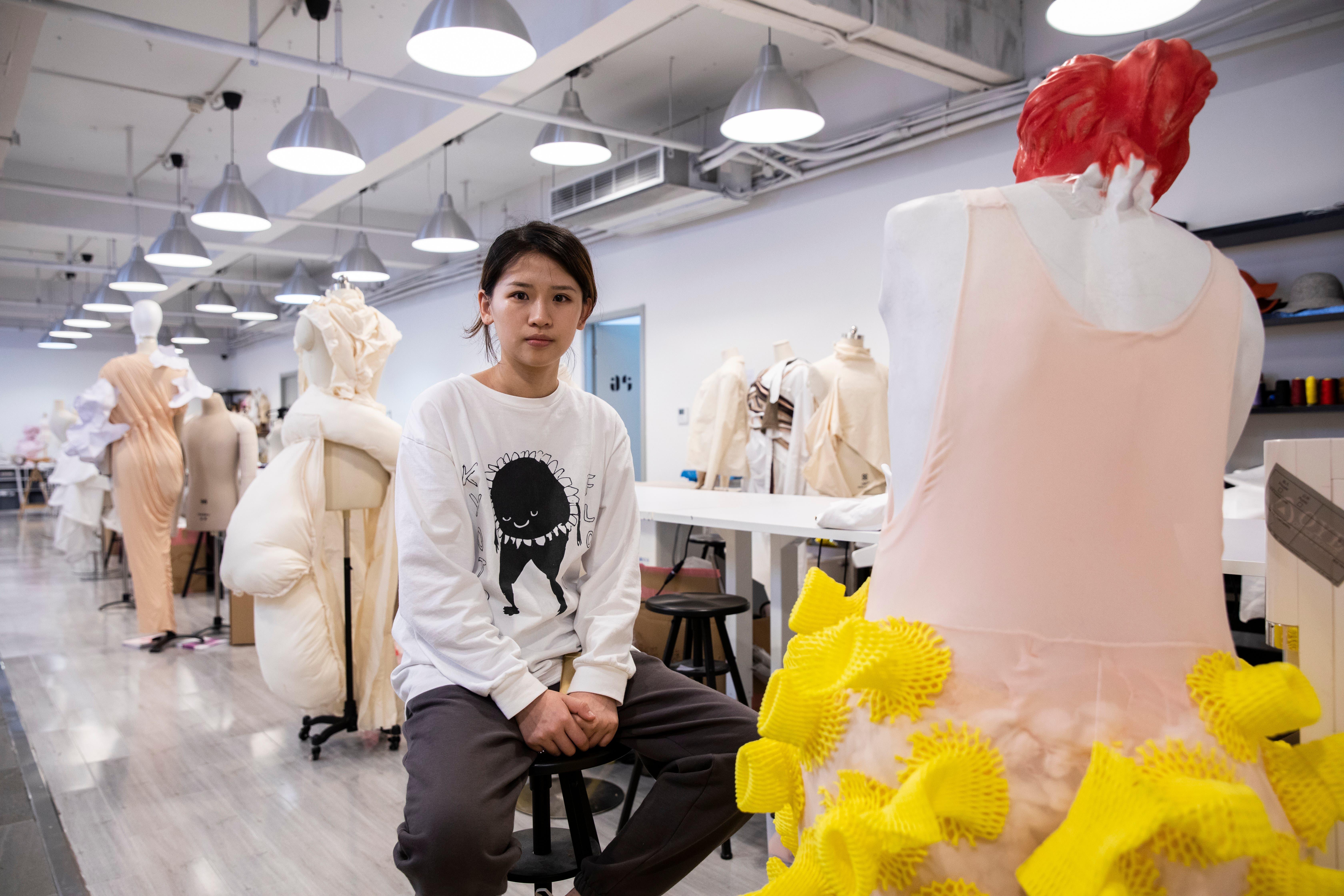 Design-Studentin Yan will helfen, China weiterzubringen.