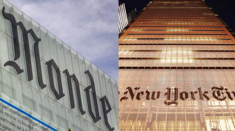 «Le Monde» und «New York Times» orten beim jeweils anderen Zensur– wer gewinnt den Kampf um die Meinungsfreiheit?