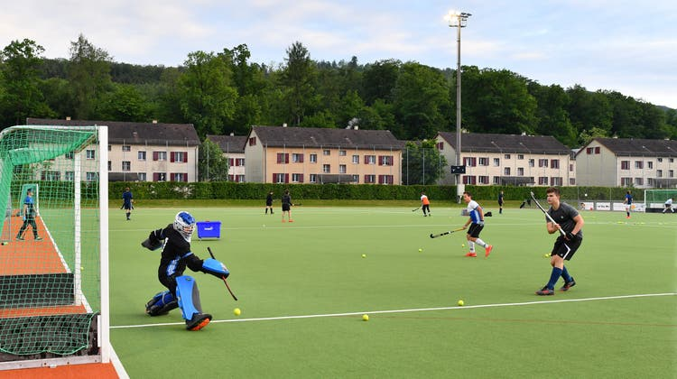 Kunstrasenfeld der Landhockeyaner: Es wird in erneuerter Form nicht Teil eines nationalen Leistungssportzentrums. (Bruno Kissling / Oltner Tagblatt)