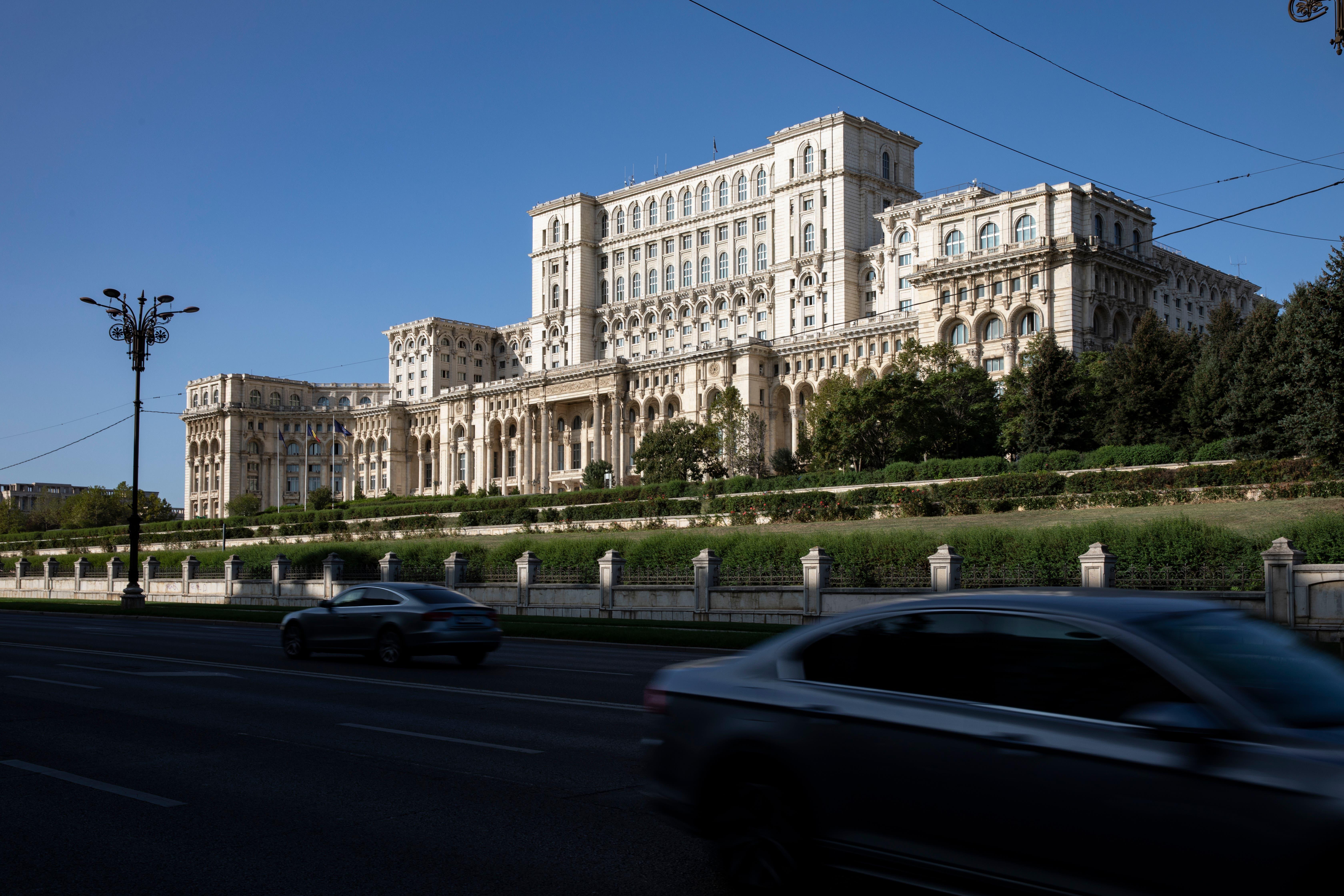 Kommunistischer Grössenwahn: Parlamentspalast in Bukarest.