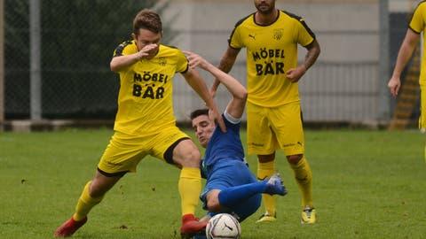 Wann die Spieler des FC Altdorf wieder auf den Rasen dürfen, ist unklar. (Bild: Urs Hanhart (19. September 2020))