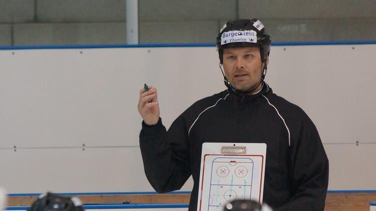 Der Coach spricht: Niki Sirén bleibt weiter beim EHC Urdorf. (Ruedi Burkart)