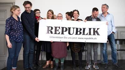 Online-Magazin«Republik»ist seit gut drei Jahren auf Sendung, nun ist das Medium staatlichen Geldern einen Schritt näher. (Anthony Anex / KEYSTONE)