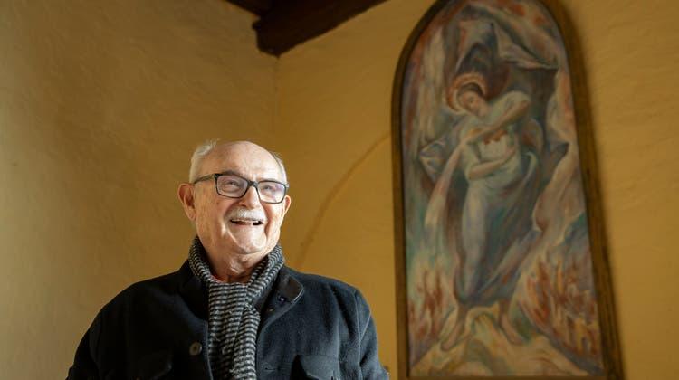 Peter Andé Bloch engagiert sich seit vielen Jahren für das Schloss Wartenfelsob Lostorf. (Patrick Lüthy)
