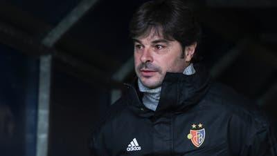 Einige Spieler seien vielleicht müde im Kopf, sagt FCB-Trainer Ciriaco Sforza. Er selber aber sei das nicht. «Ich bin klar, ich bin ruhig.» (Freshfocus)