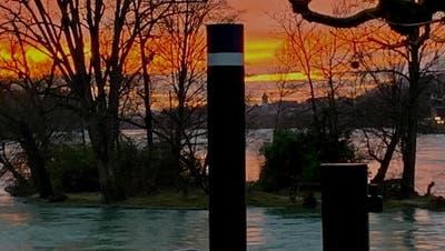 In Rheinfelden bietet das Bistro Dock 11 den Blick auf den Rhein. (Bild: Zvg)