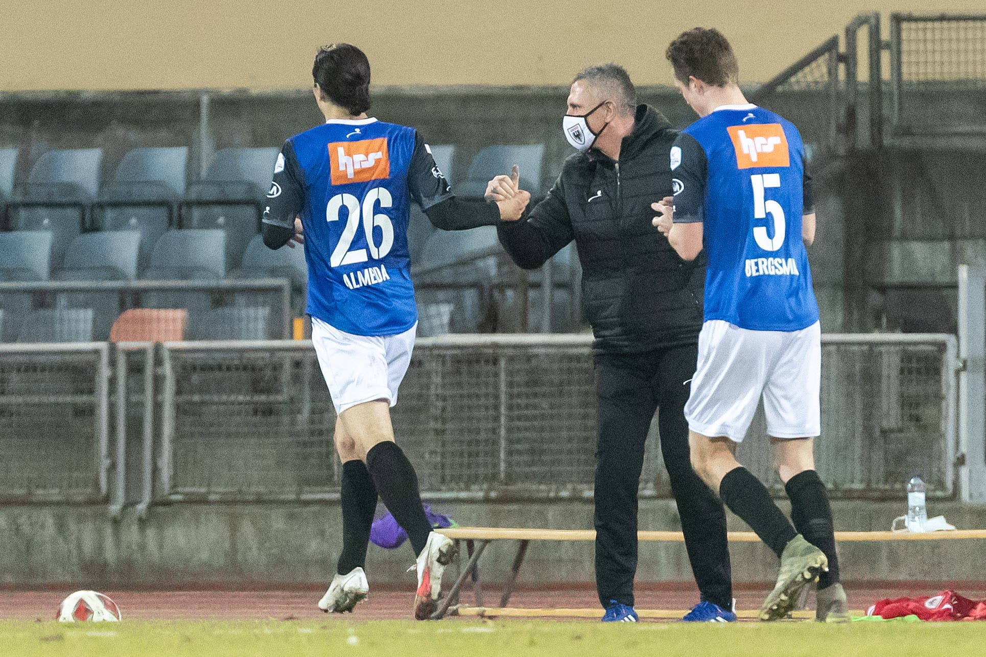 Almeida rettet dem FCA im zweiten Spiel nach seiner Rückkehr einen Punkt.