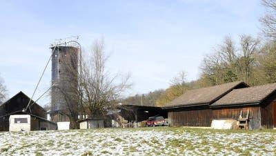 Beim Laubberghof lag vor kurzem noch Schnee, im August sollen hier heisse Rhythmen für Sommerfeeling sorgen. (Bild: Alexander Wagner (16.02.2021))