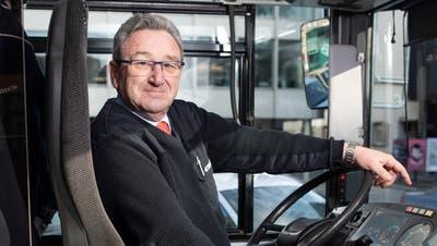 Christian Bernhard arbeitet seit mehr als 30 Jahren bei den Regionalen Verkehrsbetrieben. (Bild: Britta Gut)