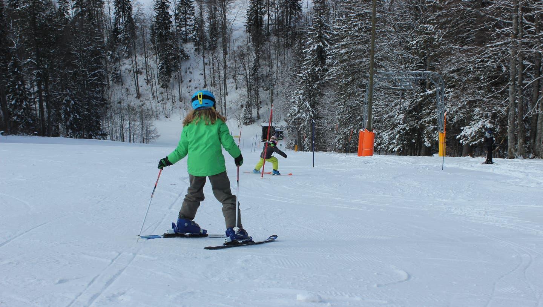 In der ersten Sportwoche waren die Schneeverhältnisse optimal. (Nadine Schmid)