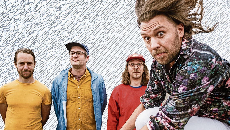 Mnevis: Thomas Fehlmann, Lukas Weber, Mario Hänni und David Hänni (von links nach rechts), veröffentlichen eine grossartige und verspielte Platte.